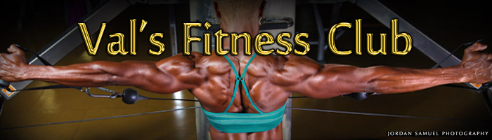 Val's Fitness Club banner